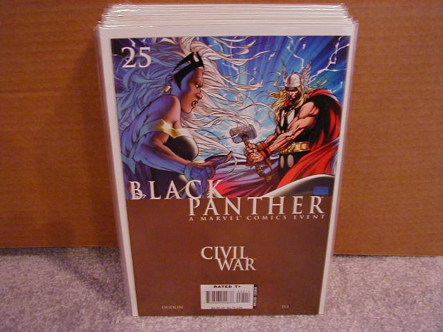 BLACK PANTHER #25  CIVIL WAR NM