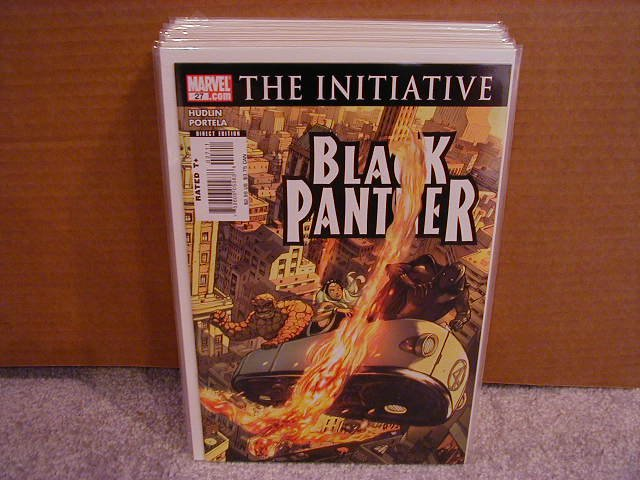 BLACK PANTHER #27  INITIATIVE  NM
