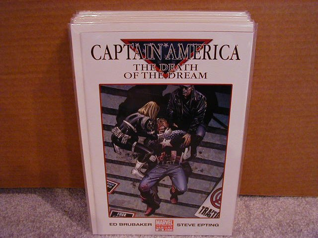 CAPTAIN AMERICA #25 2ND PRINT VARIANT NM
