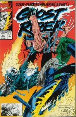 Ghost Rider (1990) #29  WOLVERINE