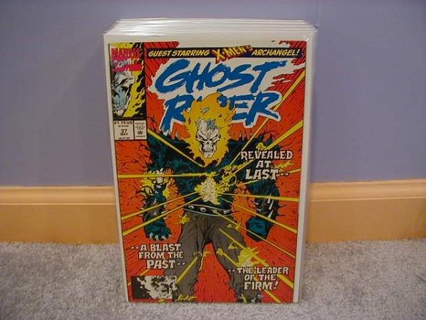 Ghost Rider (1990) #37  X-MEN