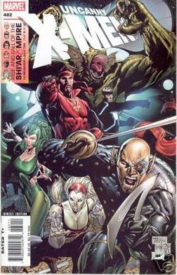 UNCANNY X-MEN #482 NM