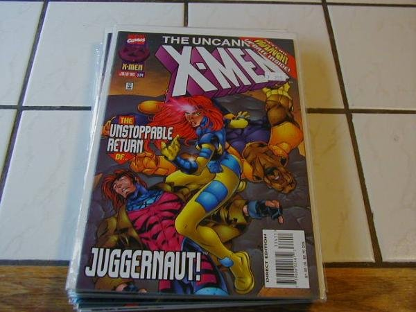 UNCANNY X-MEN #334