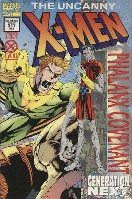 UNCANNY X-MEN #317 NM
