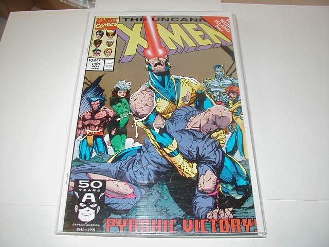 UNCANNY X-MEN #280 NM