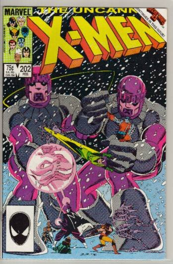 UNCANNY X-MEN #202 VF/NM