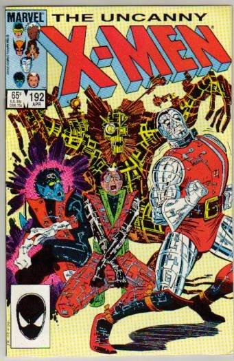 UNCANNY X-MEN #192