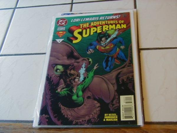 ADVENTURES OF SUPERMAN #532