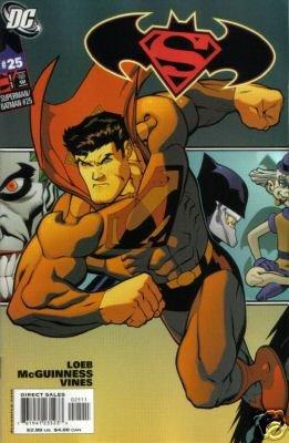 SUPERMAN BATMAN #25 NM SUPERMAN CVR