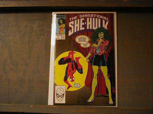 SENSATIONAL SHE-HULK #3 SPIDER-MAN VF/NM