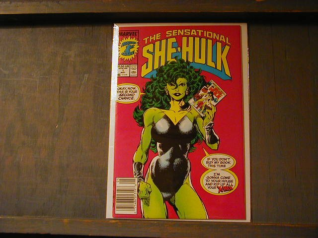 SENSATIONAL SHE HULK #1 NM