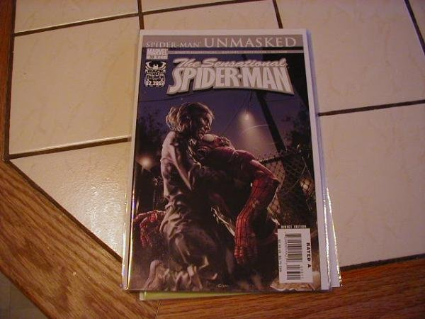 SENSATIONAL SPIDER-MAN #33 NM