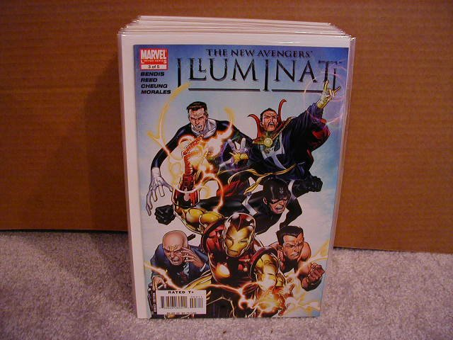 NEW AVENGERS ILLUMINATI #3 NM