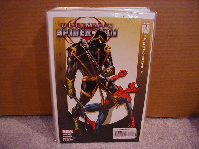 ULTIMATE SPIDER-MAN #108 NM