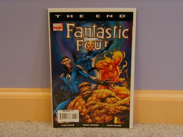 FANTASTIC FOUR THE END #6 NM
