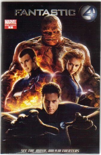 FANTASTIC FOUR MOVIECOMIC NM