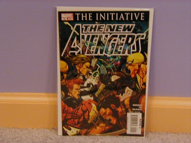 NEW AVENGERS #29 NM  THE INITIATIVE