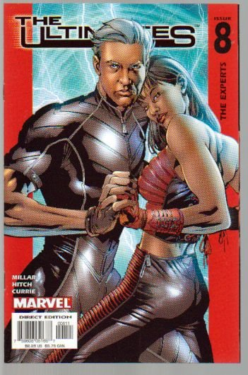ULTIMATES VOL 1 #8 NM *QUICKSILVER & SCARLET WITCH*