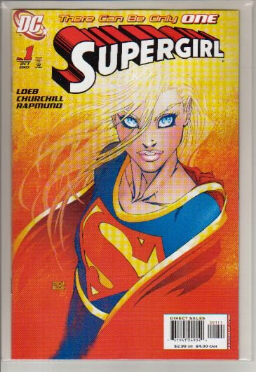 SUPERGIRL #1 NM (2005) TURNER VARIANT