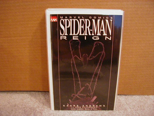SPIDER-MAN REIGN #3 NM 1ST PRINT