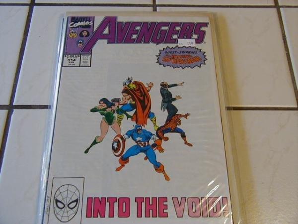 AVENGERS #314 SPIDER-MAN