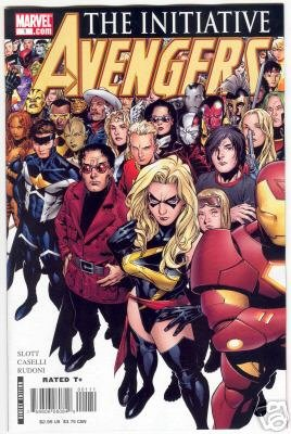 AVENGERS THE INITIATIVE #1 NM CVR A