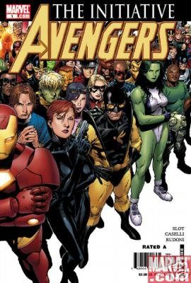 AVENGERS THE INITIATIVE #1 NM  CVR B