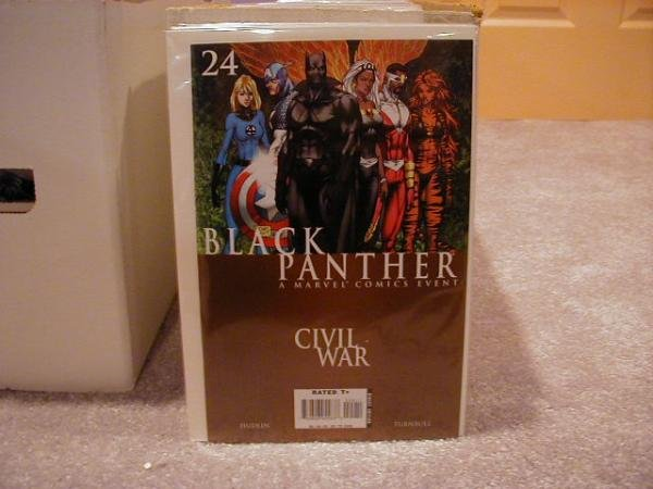 BLACK PANTHER #24 NM CIVIL WAR