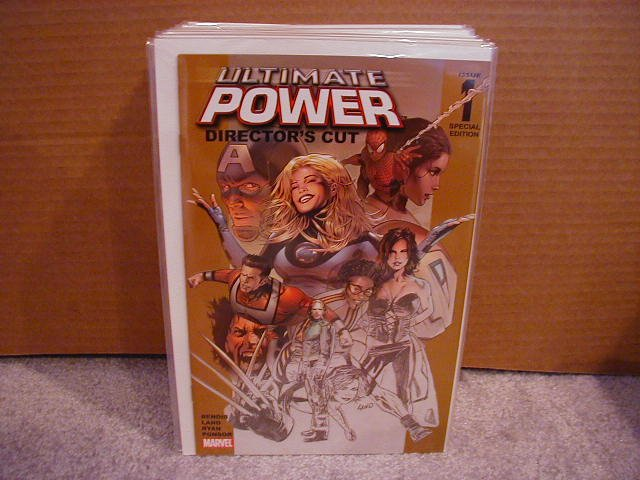 ULTIMATE POWER #1 NM DIRECTOR'S CUT