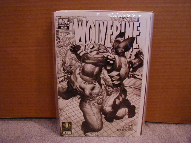WOLVERINE VOL 2 #53 NM VARIANT EDITION