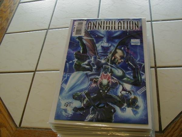 ANNIHILATION NOVA CORPS FILES NM