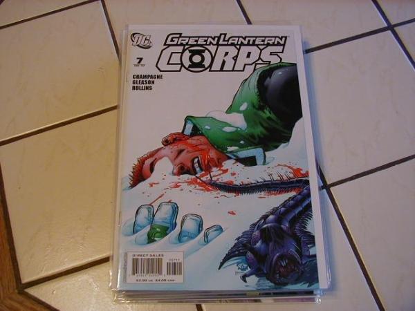 GREEN LANTERN CORPS #7 NM