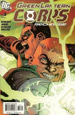 GREEN LANTERN CORPS RECHARGE #3 NM
