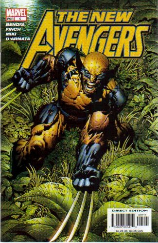 NEW AVENGERS #5 NM WOLVERINE