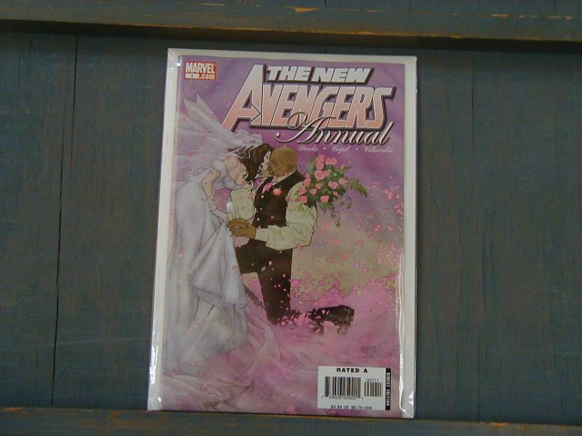 NEW AVENGERS ANNUAL #1 WEDDING LUKE CAGE NM