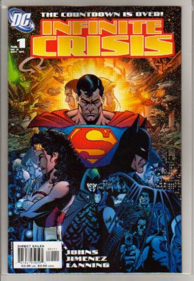 INFINITE CRISIS #1 *B COVER* NM