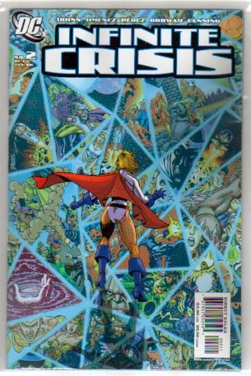 INFINITE CRISIS #2 *B COVER* NM