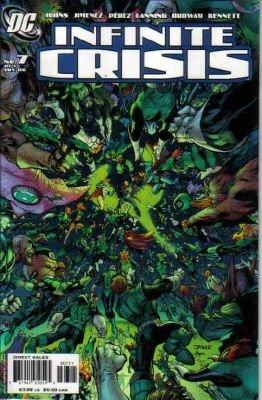 INFINITE CRISIS #7B NM  LEE COVER