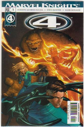 MARVEL KNIGHTS 4 #1 NM ** FANTASTIC FOUR**