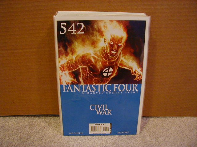 FANTASTIC FOUR #542 NM