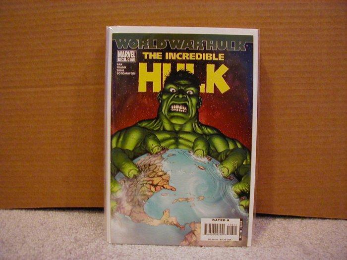 INCREDIBLE HULK #106 NM WORLD WAR HULK