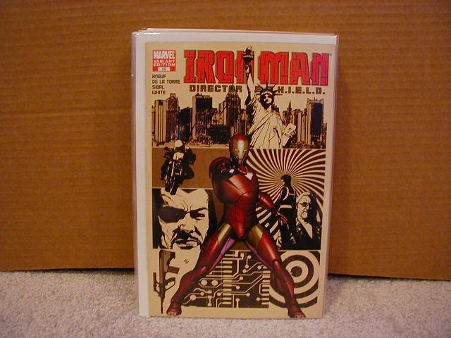 IRON MAN #15 NM(2006)  VARIANT COVER