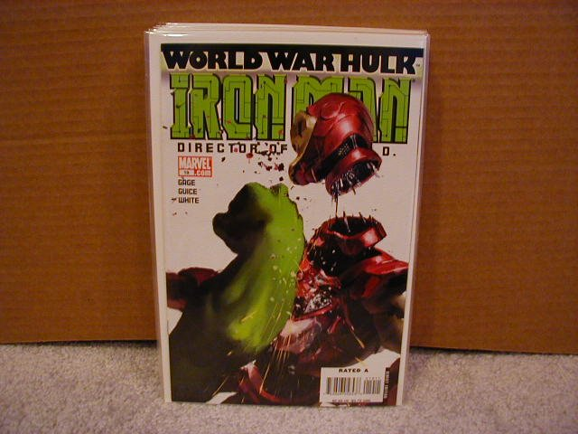 IRON MAN #19 NM  WORLD WAR HULK