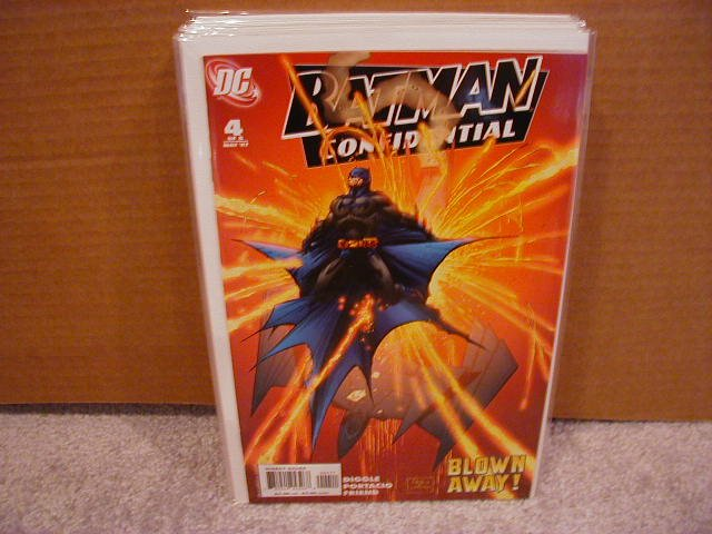 BATMAN CONFIDENTIAL #4 NM