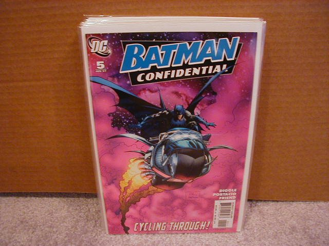 BATMAN CONFIDENTIAL #5 NM