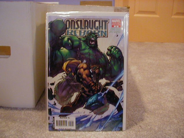 ONSLAUGHT REBORN #2B VARIANT COVER  NM