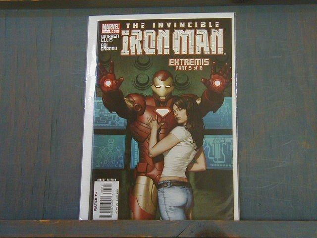 IRON MAN #5(2006) *EXTREMIS*