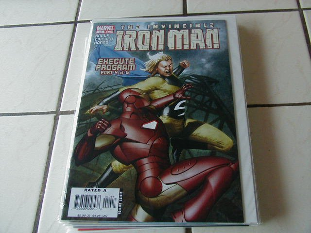 IRON MAN #10(2006) NM