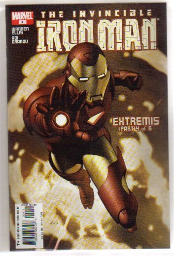 IRON MAN #4 NM(2006) *EXTREMIS*