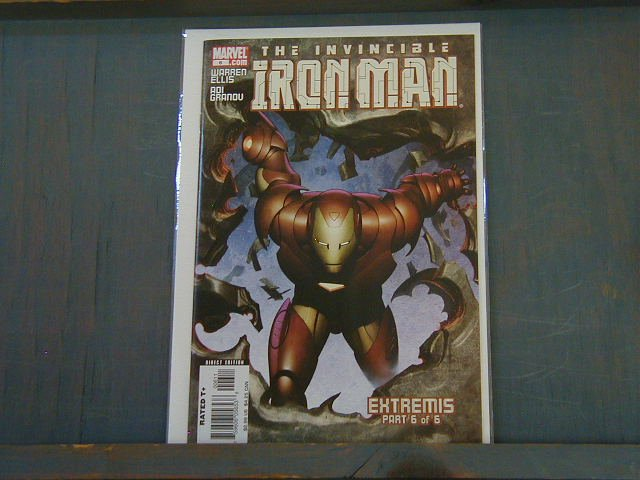 IRON MAN #6 NM(2006) *EXTREMIS*